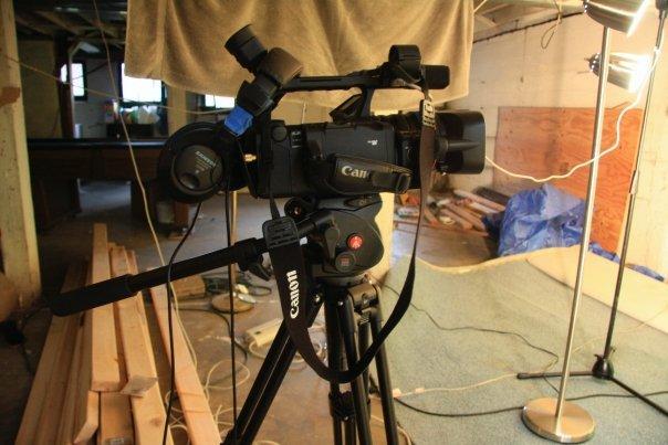 Biffsession studios, aka my basement.