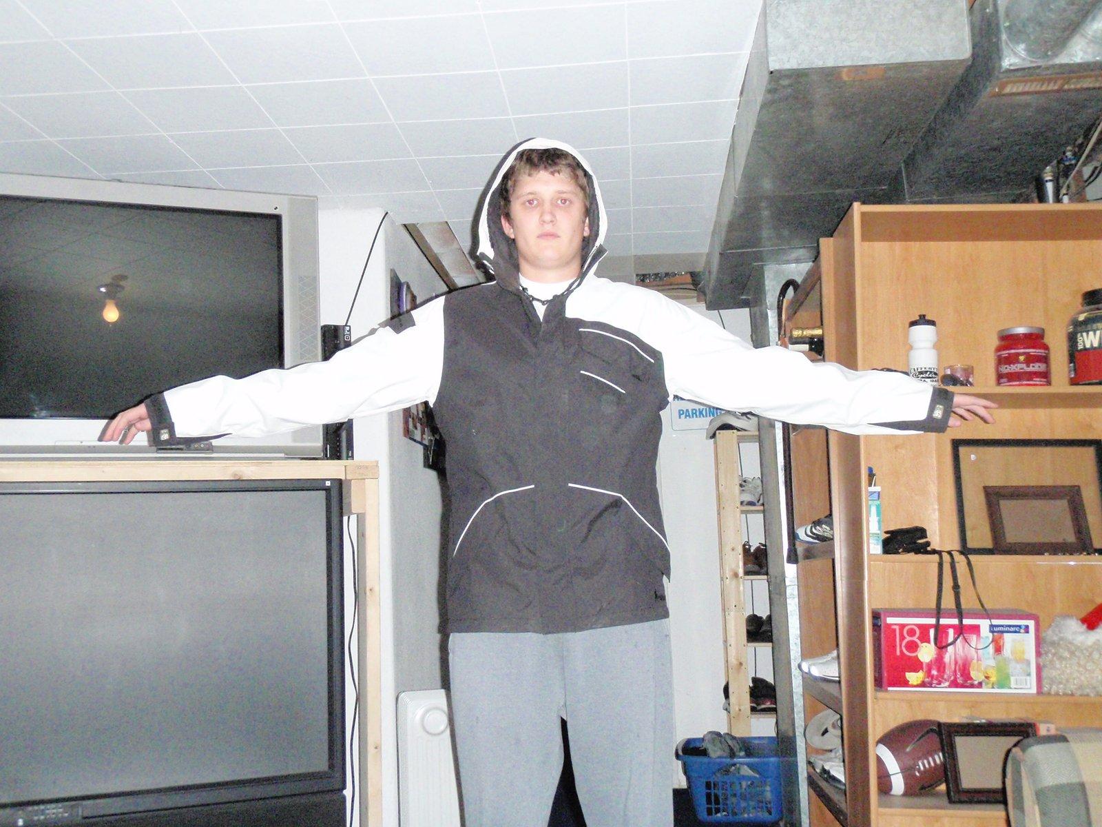 Burton White collection M ski jacket