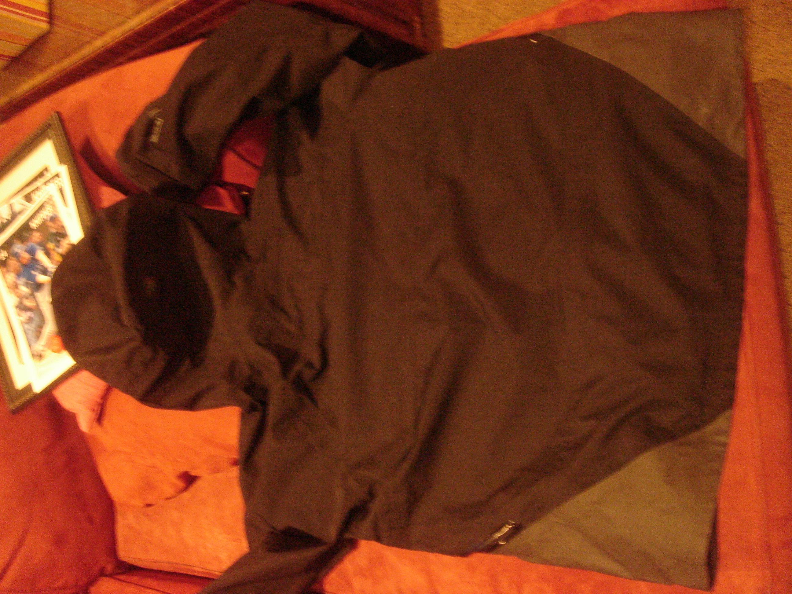 Back of coat