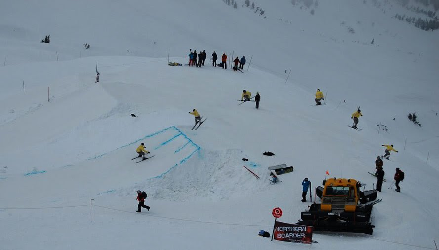 720 sequence at the big air comp
