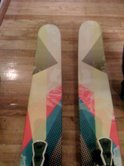 Armada ARG with Salomon STH 16 bindings. $550.00