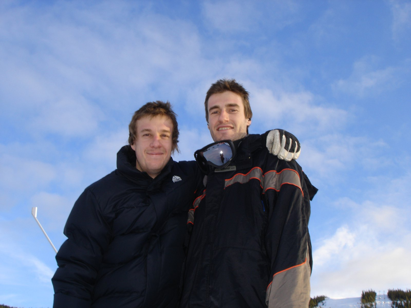 Cameron (my brother) and I in Nesbyen, Norway.