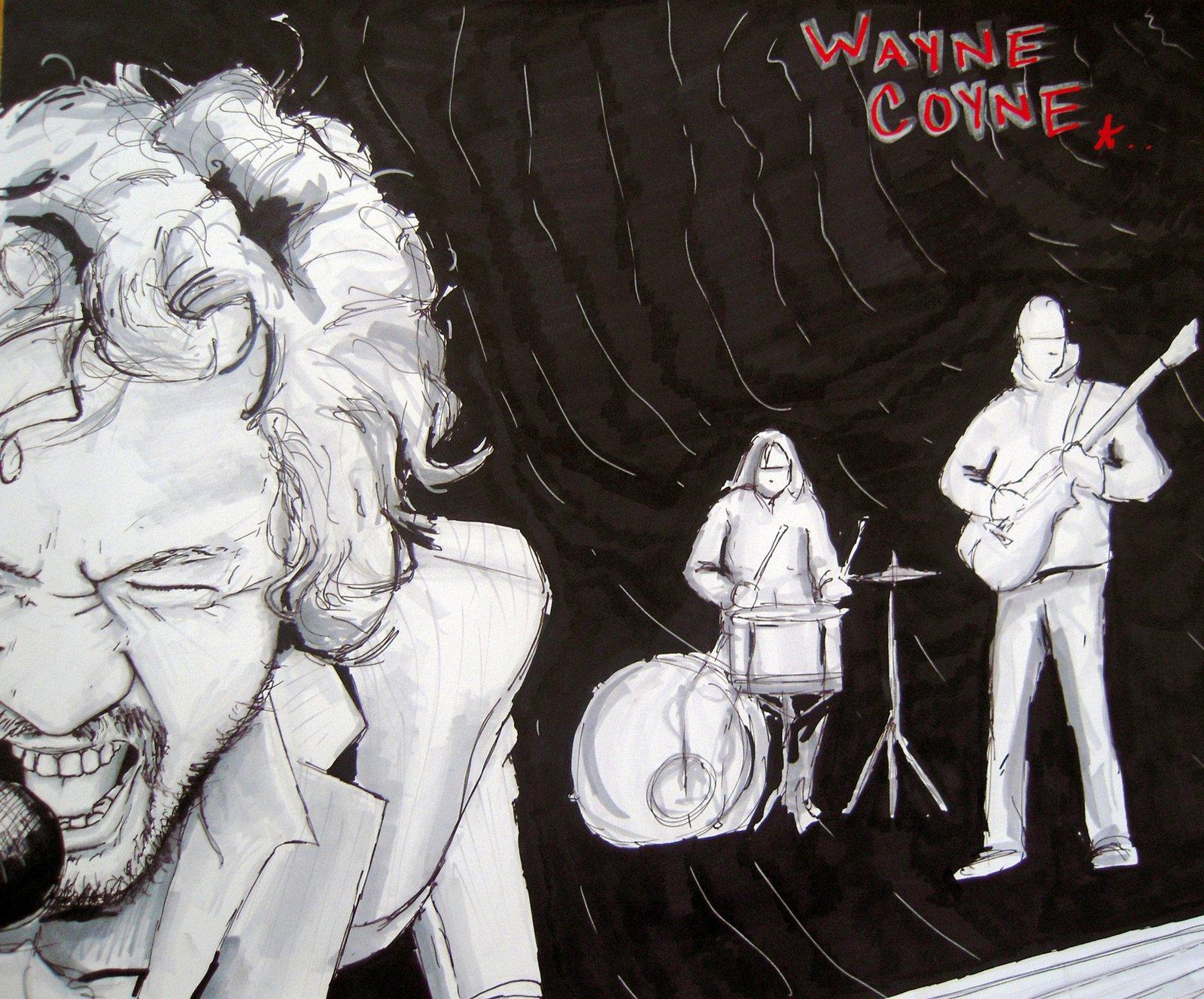 Wayne Coyne in prismas