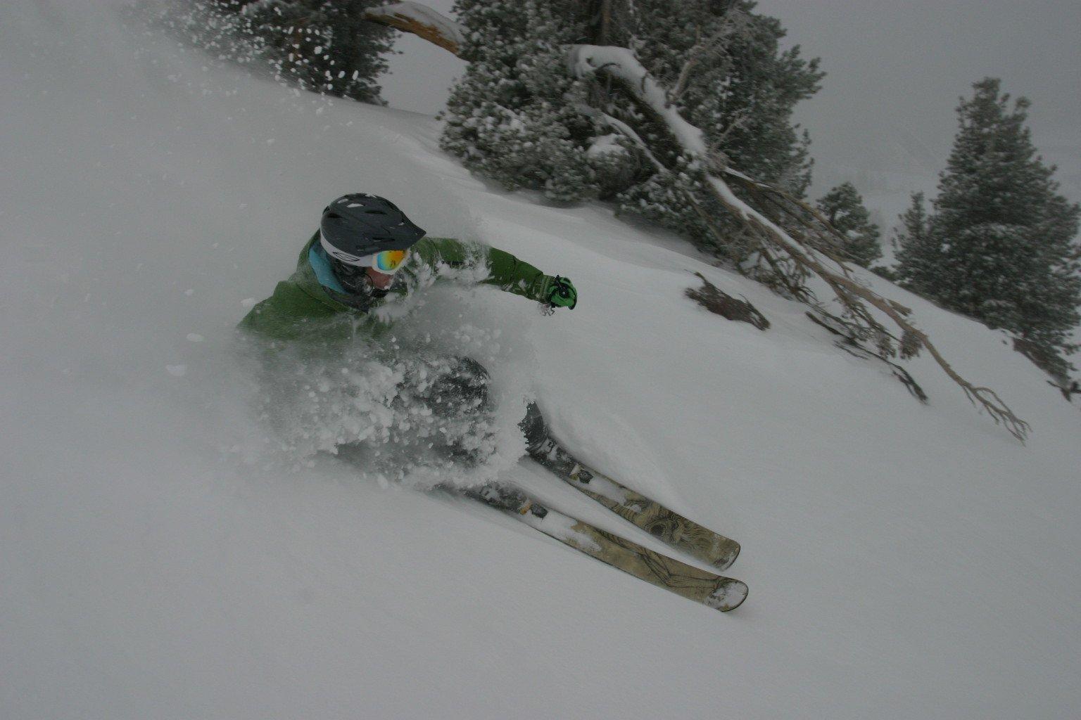 More Nov. 28 powder at Mammoth