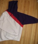 White red and purple....super sick hoody