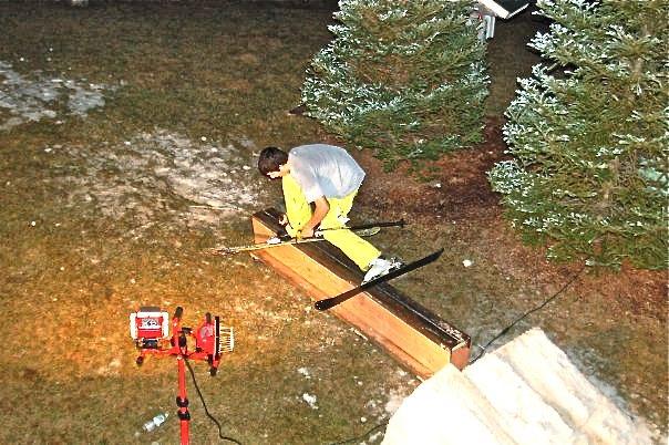 Broken slide on new metal rail