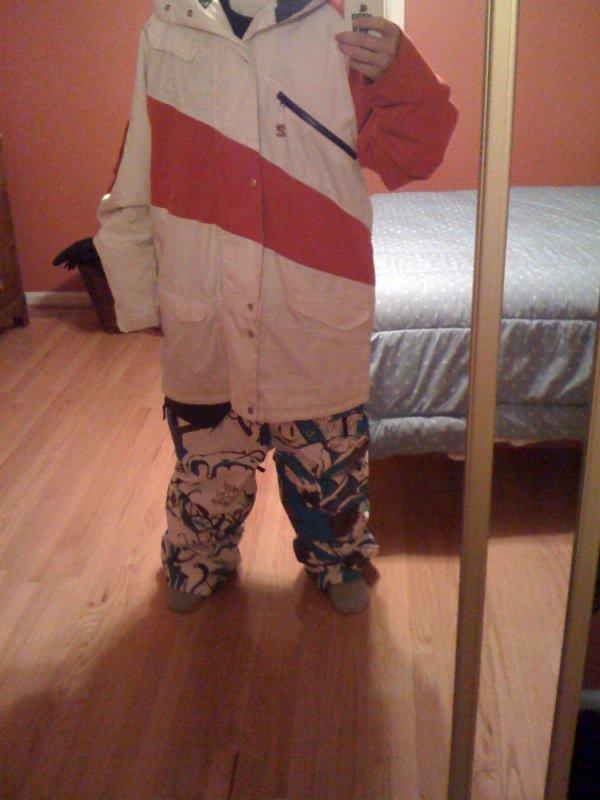 G jacket magic pants