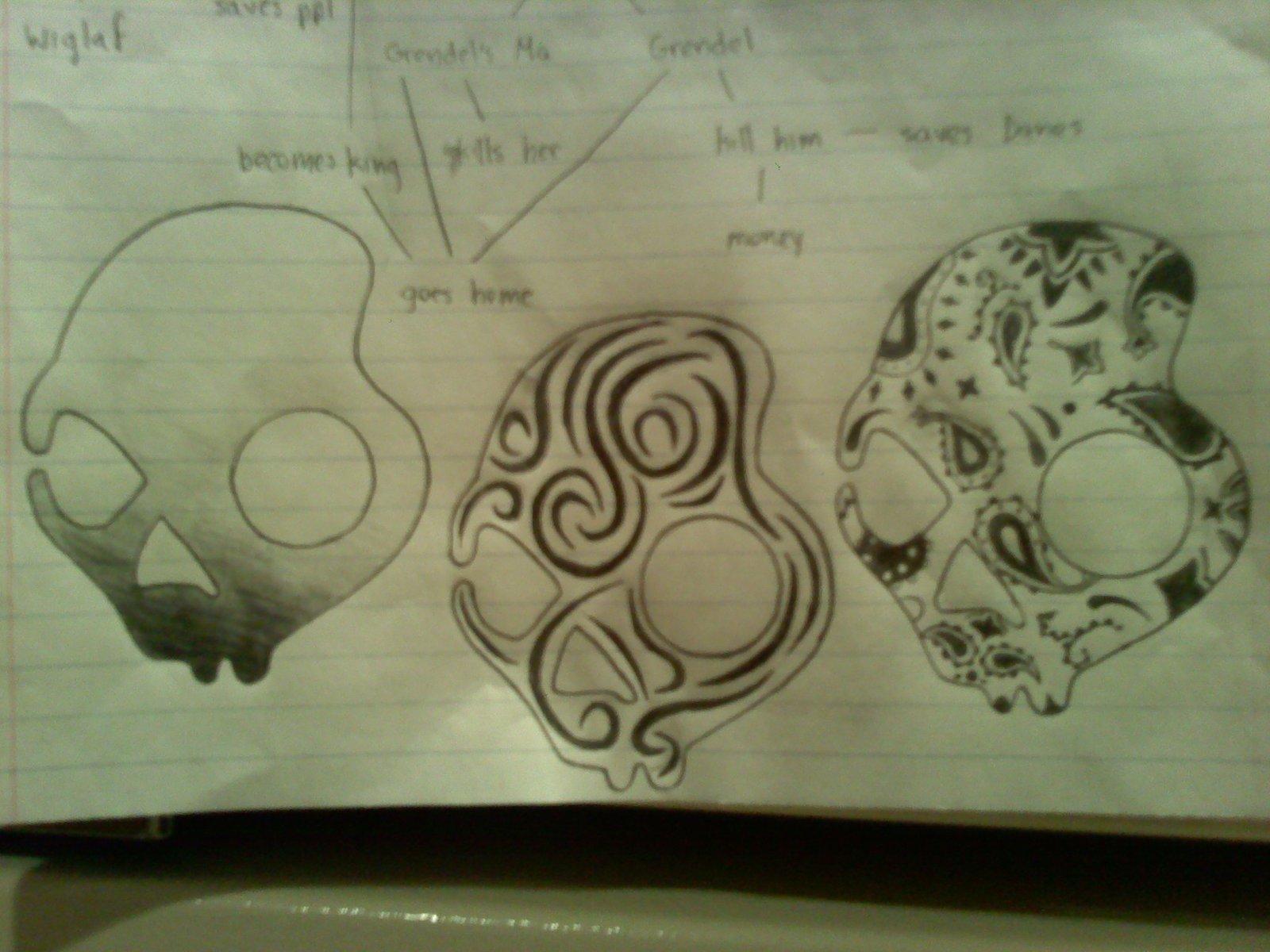 I drew that