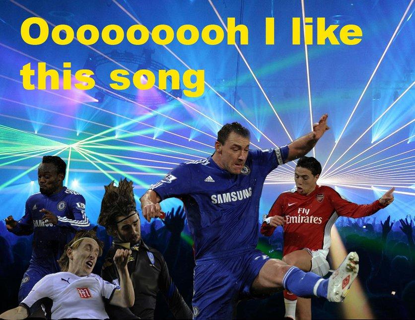 Soccer rave