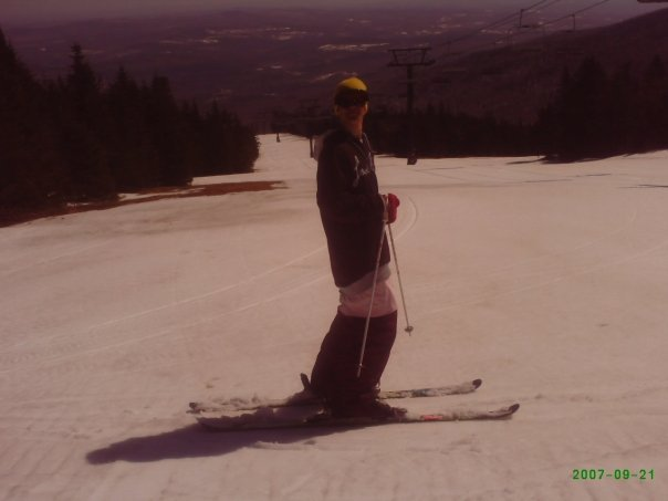 Me at mount snow