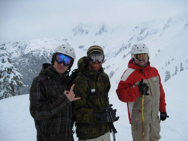 Me and Shane Szocs at Kamp K2