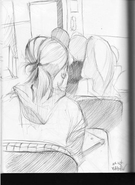 Art hist class sketch..