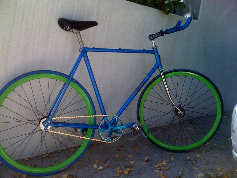 Finished Fixed Gear