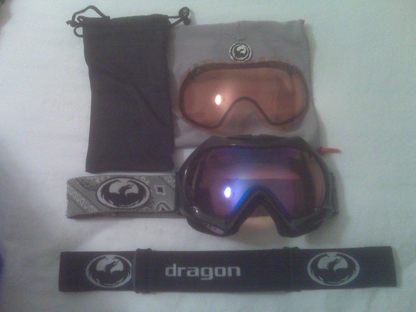 FS: Dragon Foil Goggles