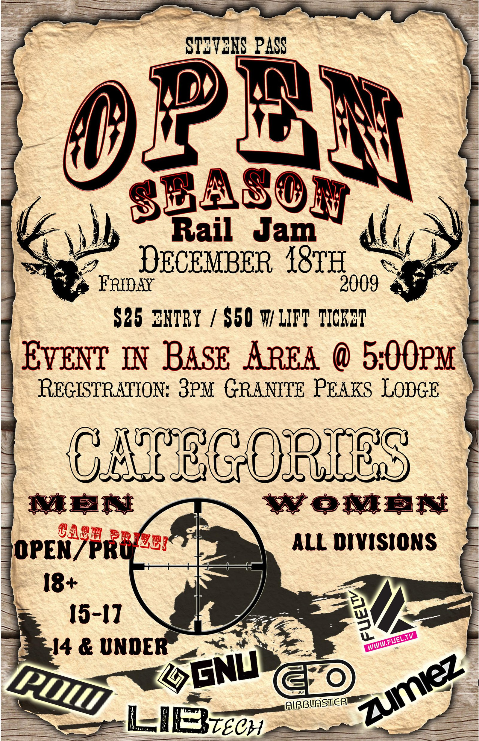 Open Season Rail Jam