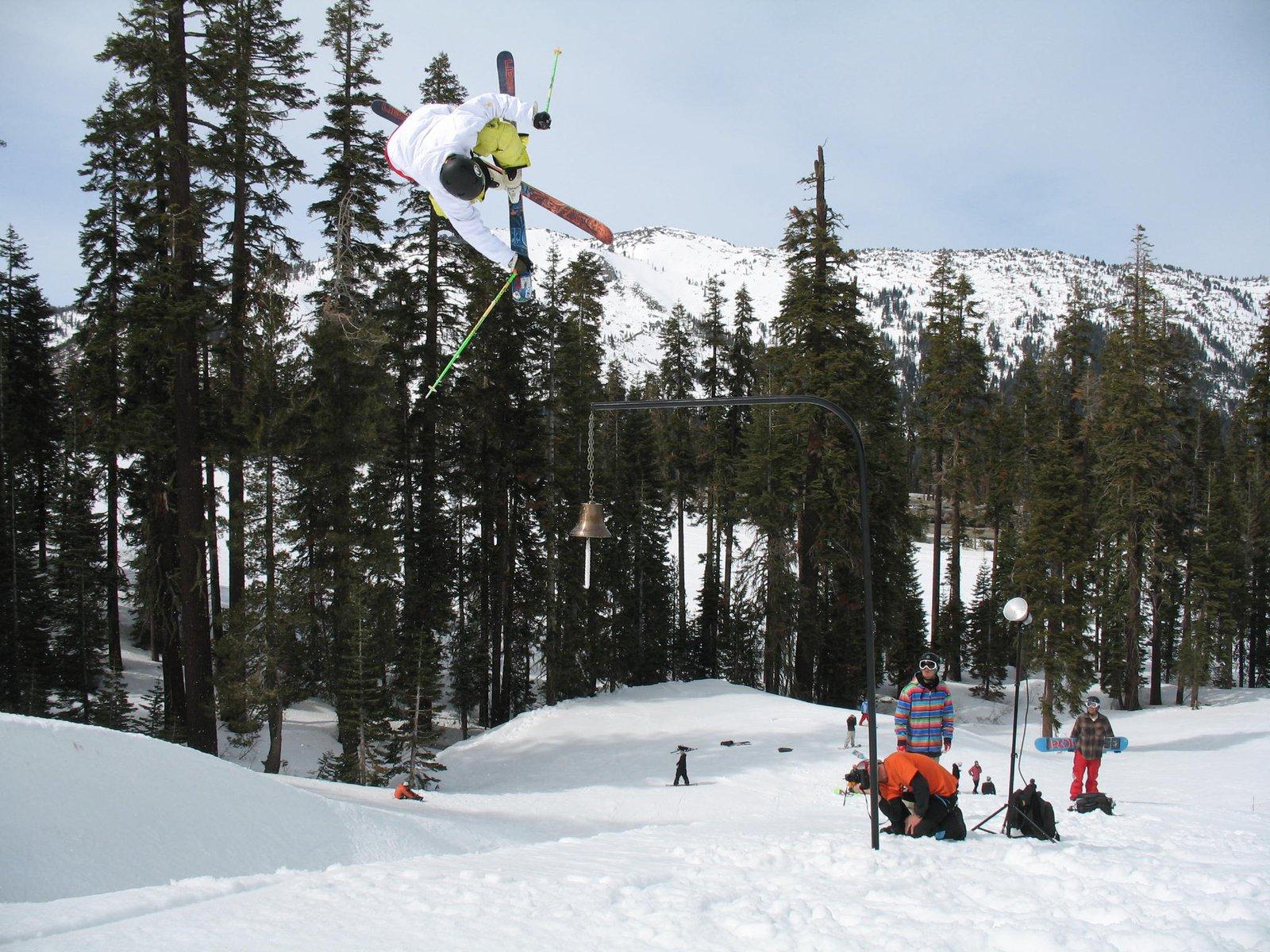 Team skier Colby Albino