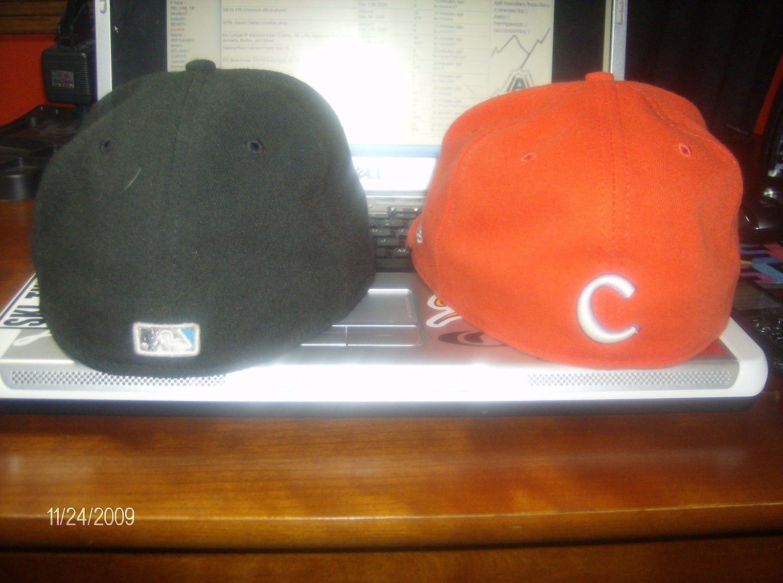 Back hats