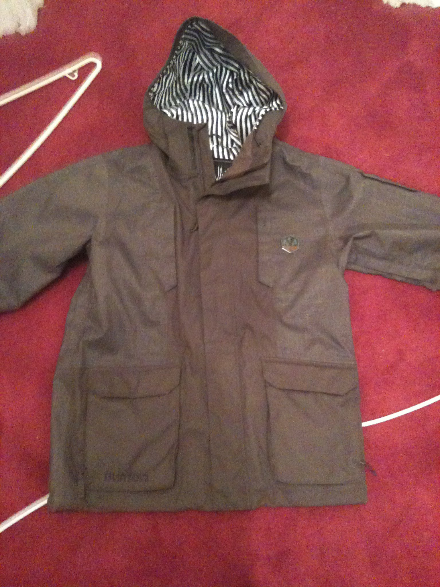 Small burton jacket for sale