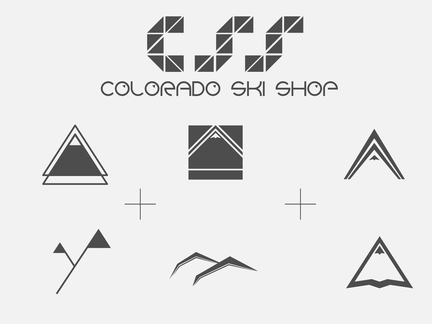Colorado Ski Shop Logos