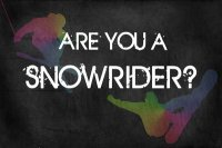 Are You A SnowRider?