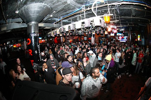 Winter Kickoff Party Crowd