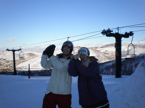 Mr. Walnutz and I doing the bird in PC