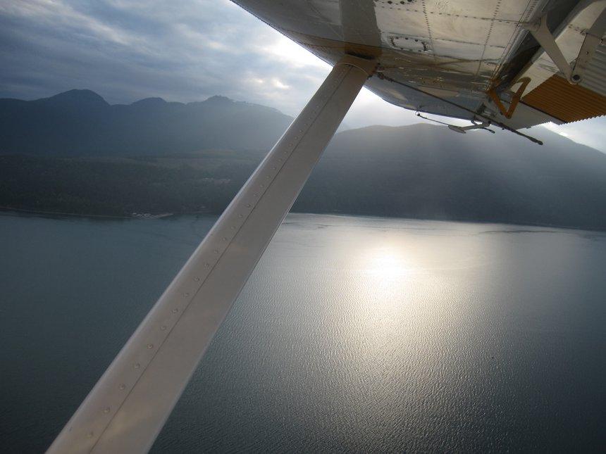 Over lake