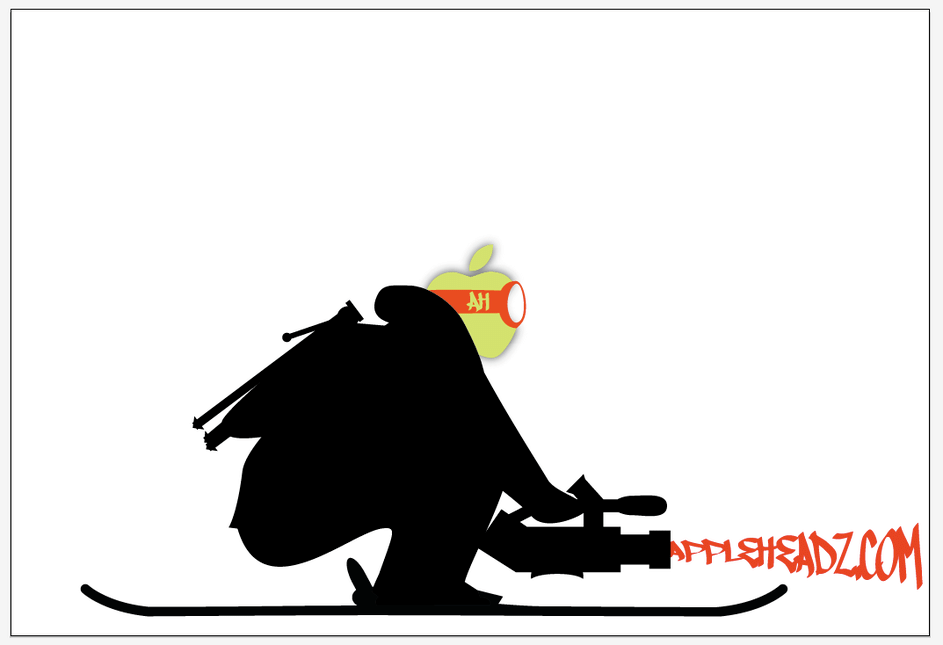 AppleHeadz.com macbook skin.