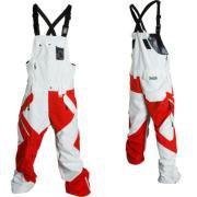 OAKLEY AIR RAID PANT RED/WHITE $225
