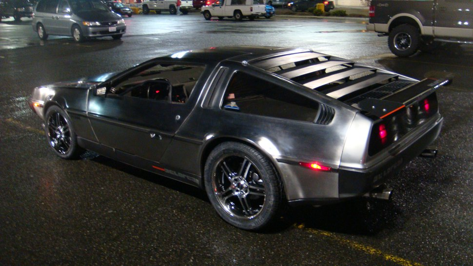 My brothers delorean