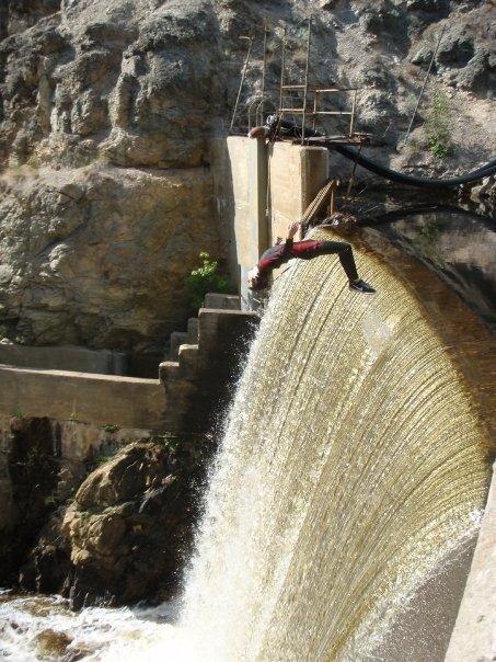 Backie waterfall