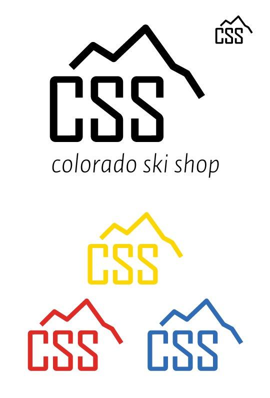 Colorado Ski Shop Logo