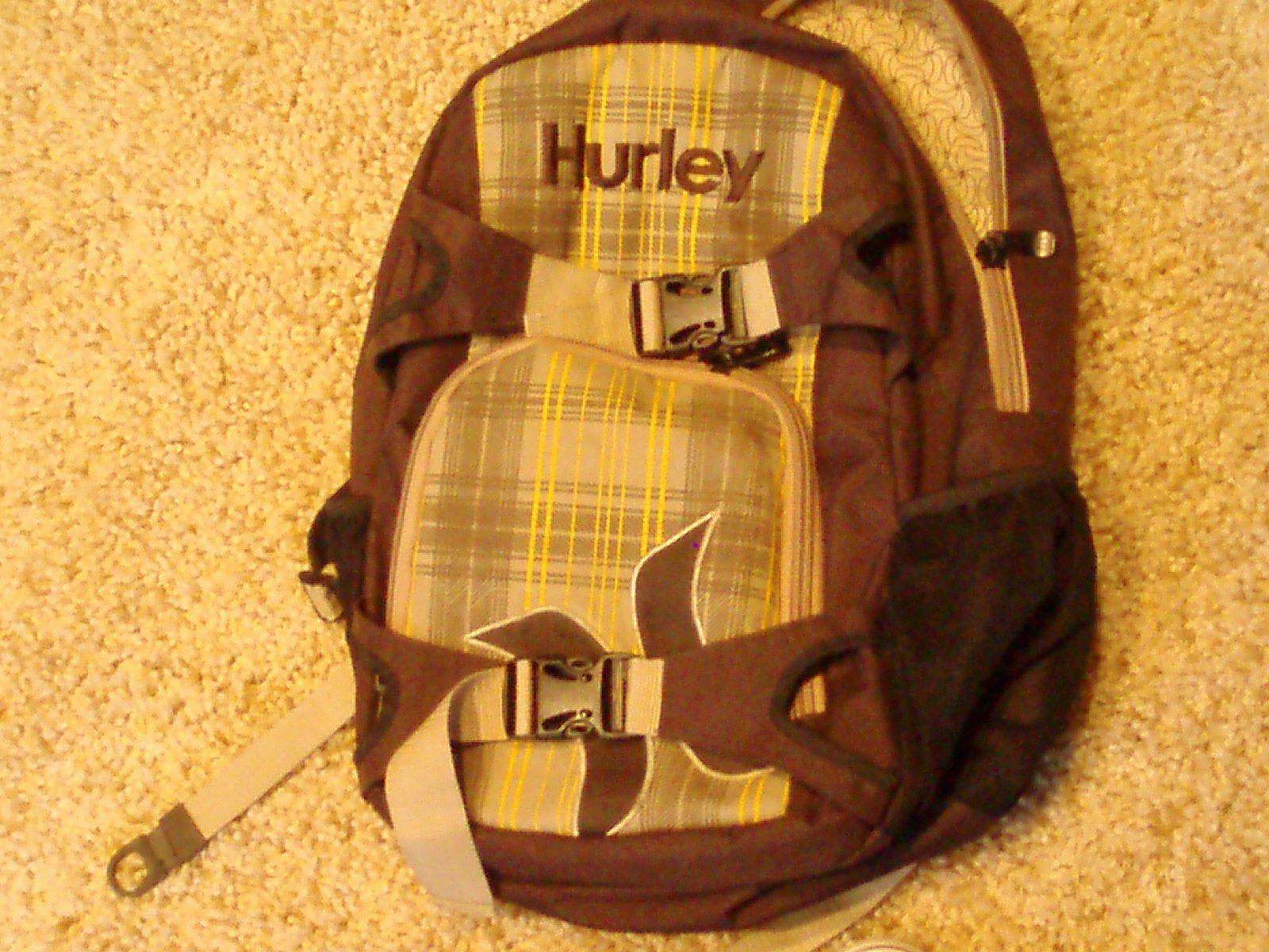 Hurley back pack