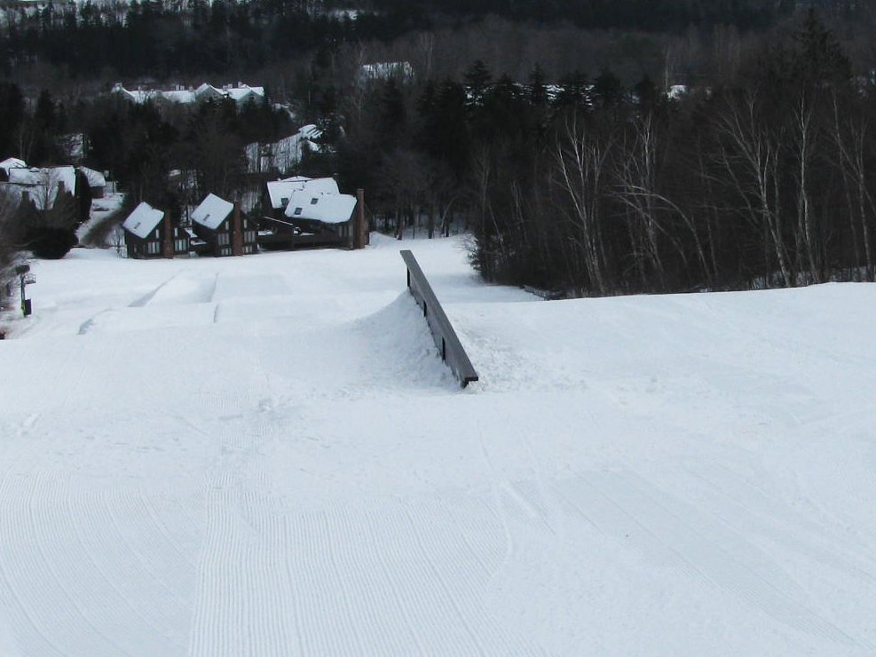Gulch up rail