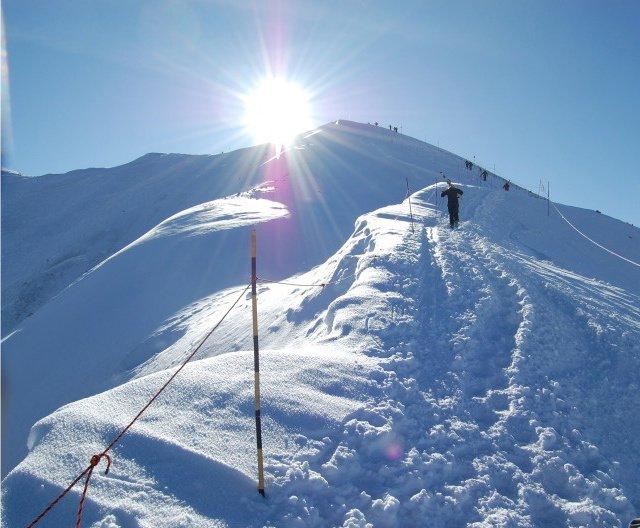 Hiking the Peak