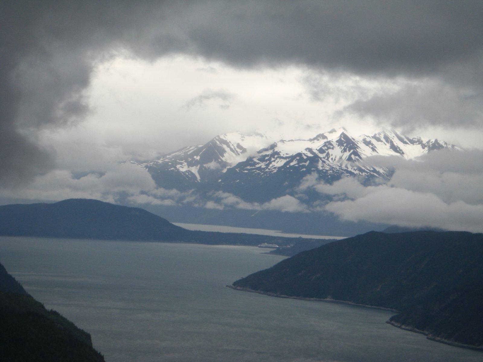 Alaska from a Heli