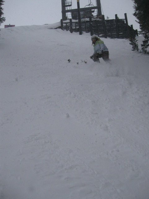 Gettin' some in Mammoth