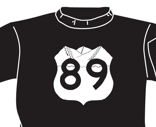 Ski HWY 89/Logan Canyon shirt logo (copyright)