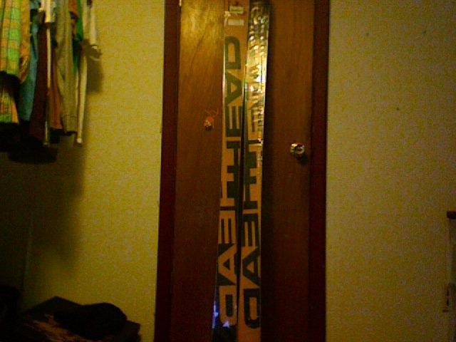 My head skis