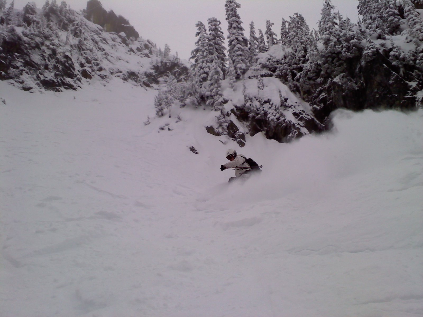Hitting alpental on the new pow skis