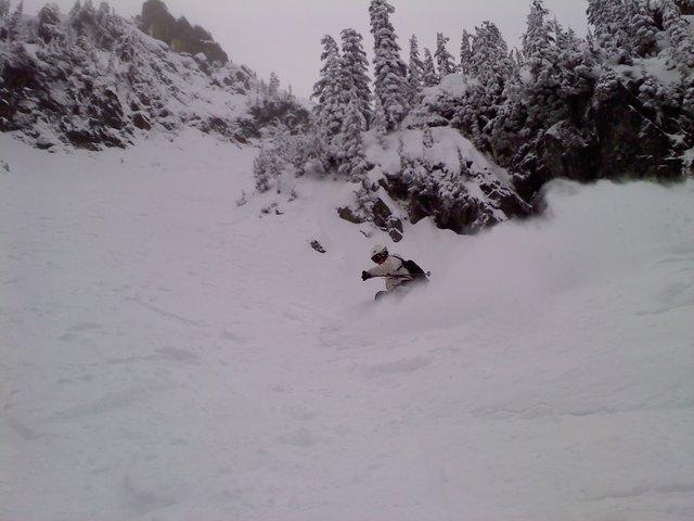 Hitting alpental on the new pow skis