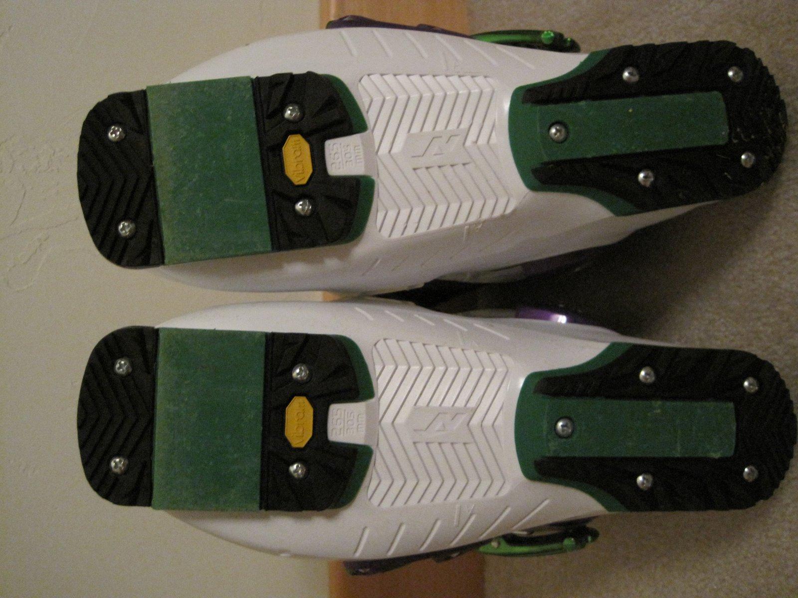 Nordica Ace of Spades soles