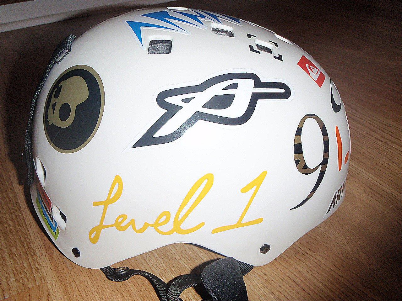 My helmet 5