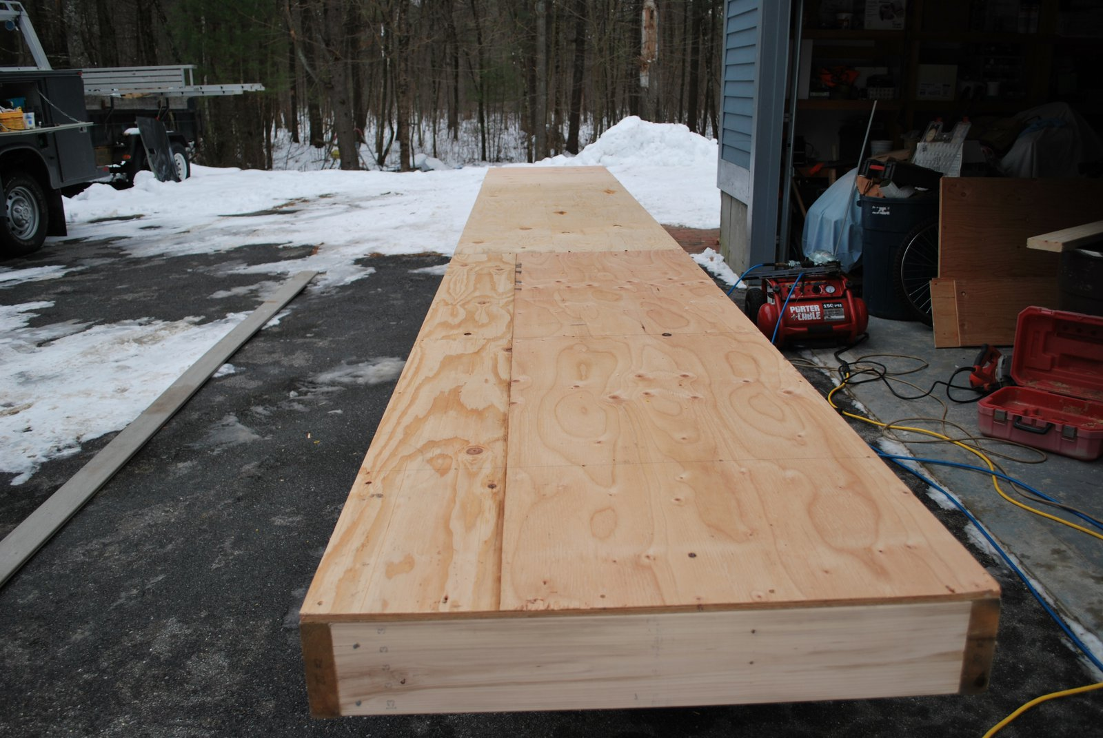 20 foot rail
