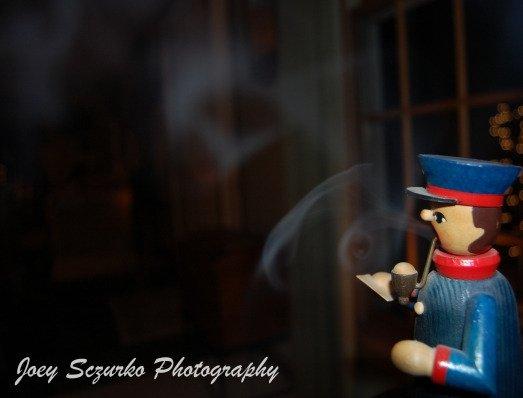 Incense.