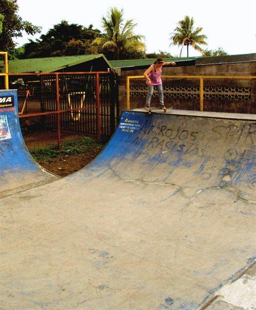 Skatin in Costa Rica