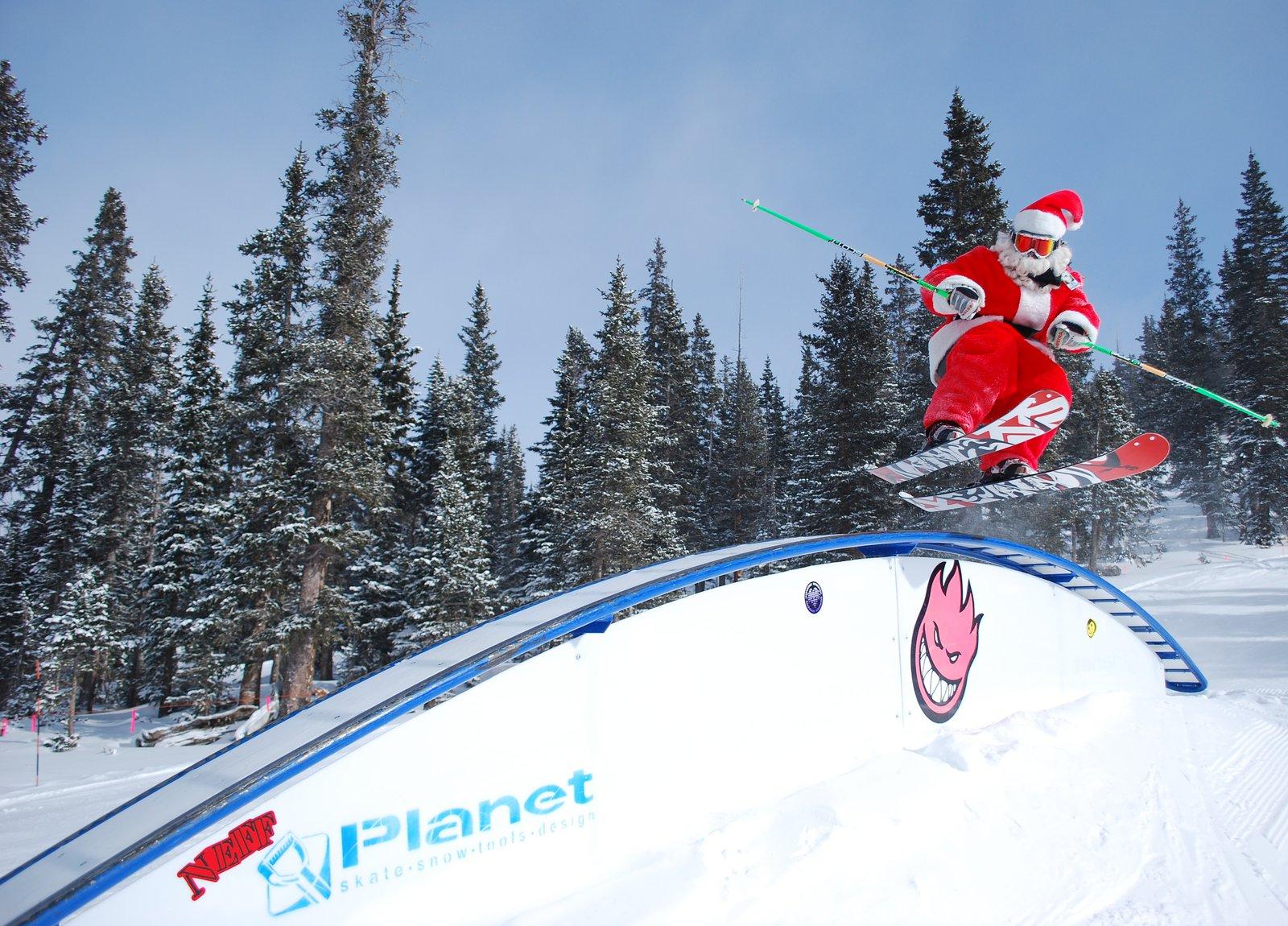 Santa @ Loveland Ski Area 2009