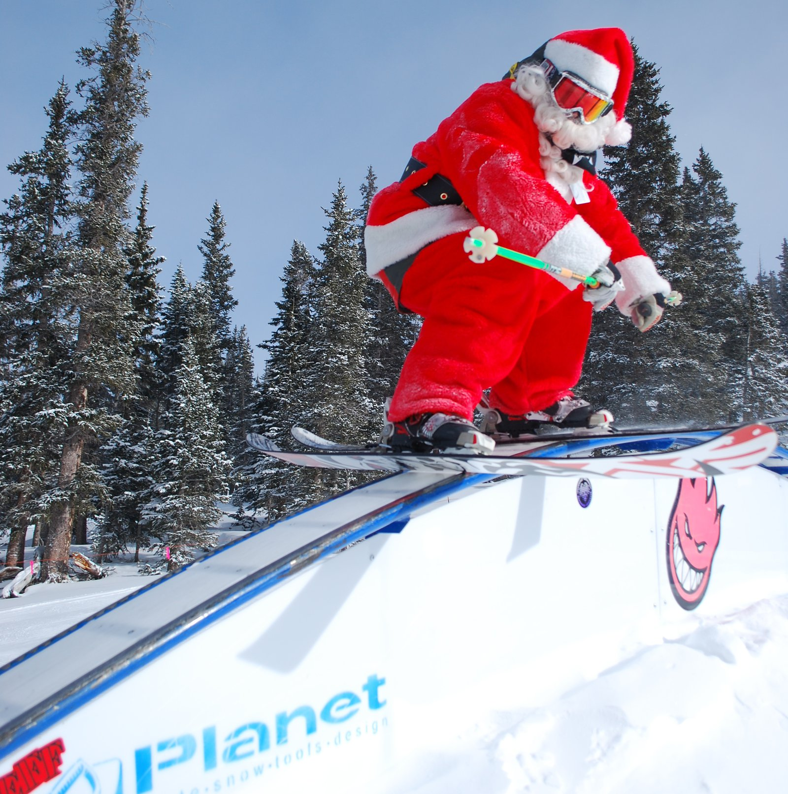 Santa Getting Some @ Loveland Ski Area