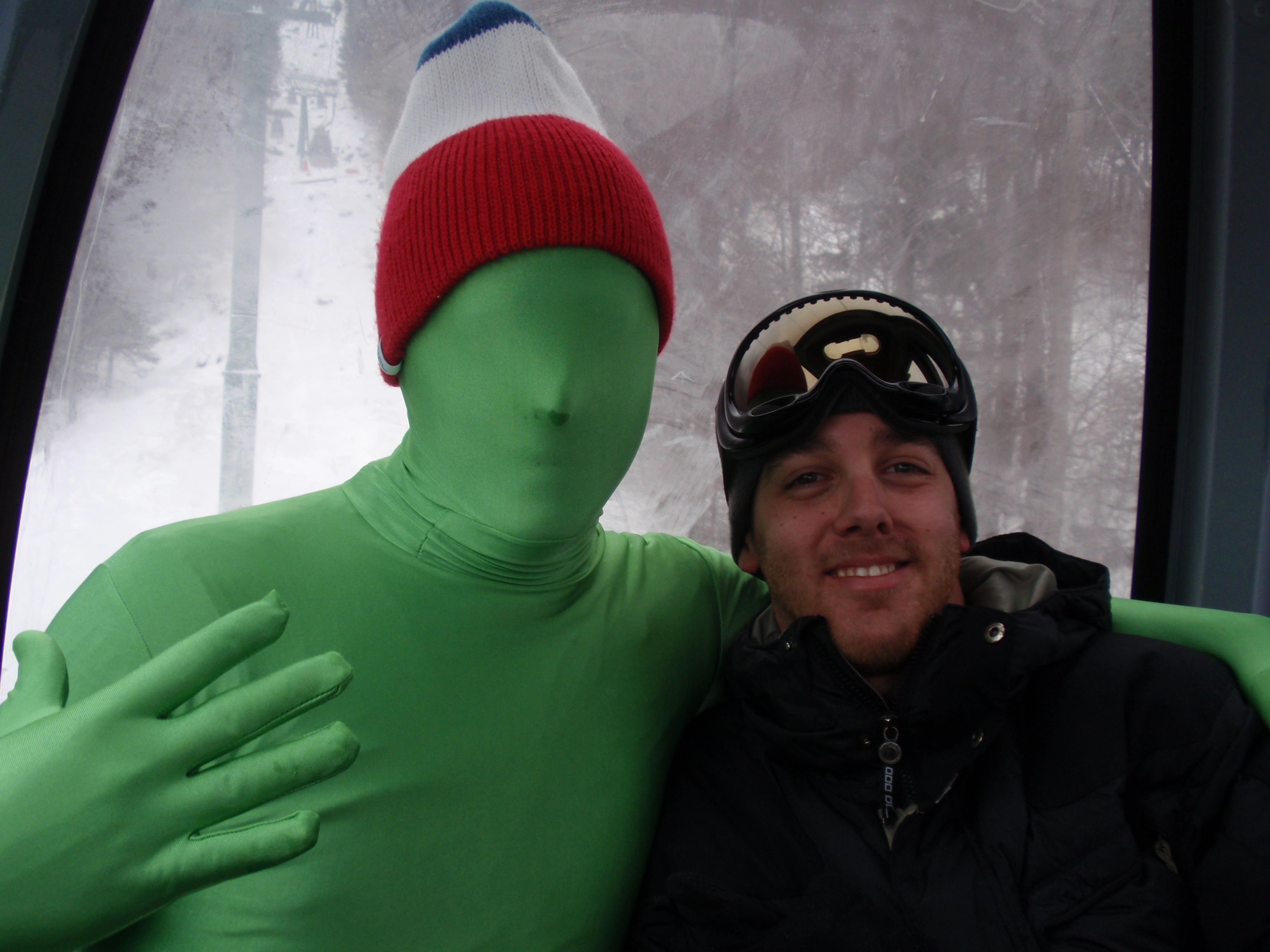 Green Man on Gondola