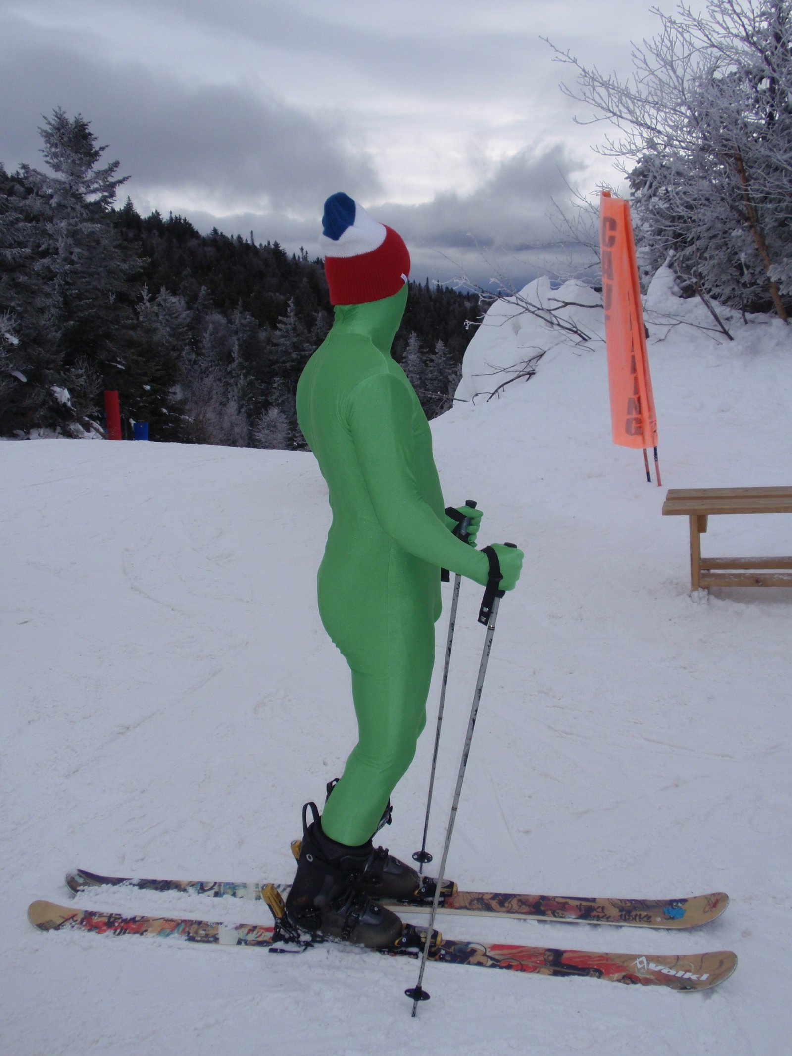 Green Man Trail Map